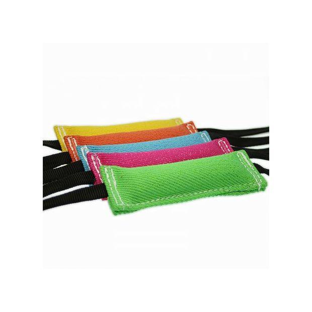Fresh-Line Beißwurst - 4 x 20 cm - mit 2 Gurtbändern -  in vielen knalligen Farben