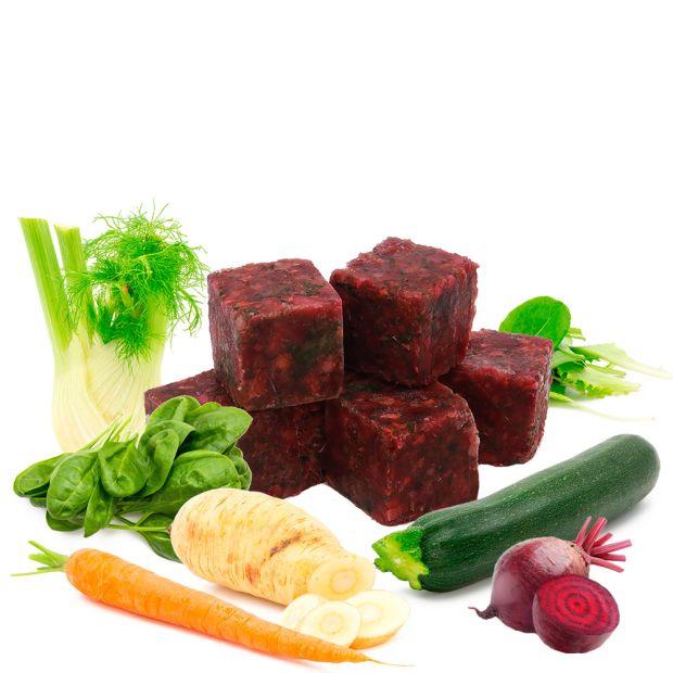 Veggie Cubes V - Gemüsewürfel - gefroren, 10 Stück