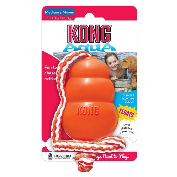 Kong Aqua Medium - Schwimmt im Wasser