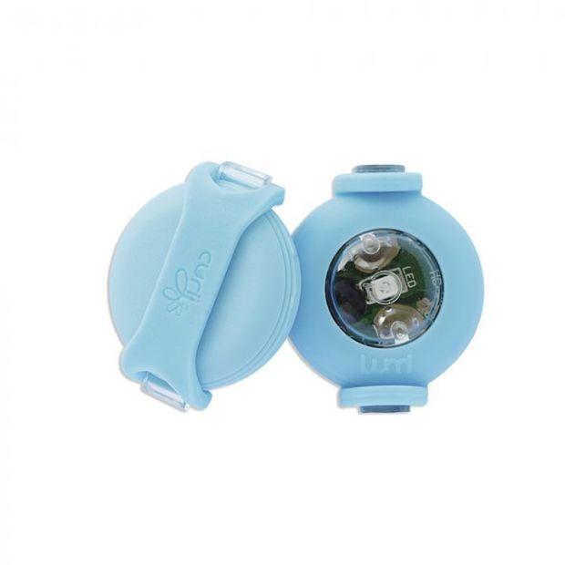 Curli Luumi LED - Ultraleichte, kleine und leuchtstarke LED Sicherheitslichter mit variabler Befestigung