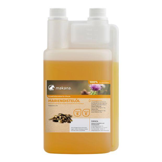 Mariendistelöl für Hunde, nativ kaltgepresst