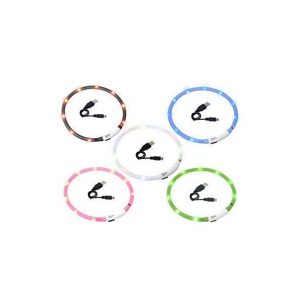 Visio Light LED-Hundelicht verschiedene Farben