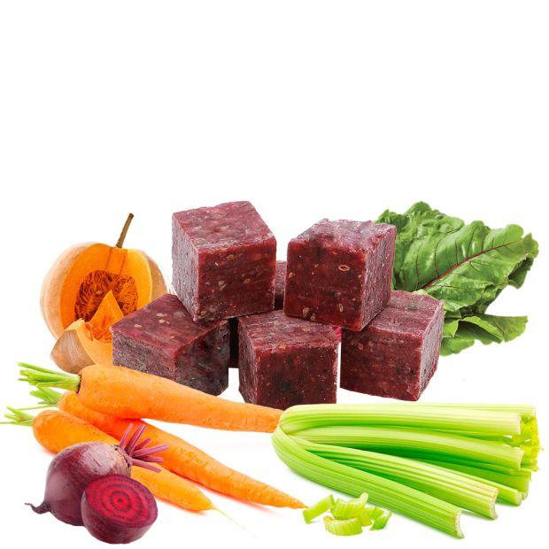 Veggie Cubes II - Gemüsewürfel - gefroren, 10 Stück