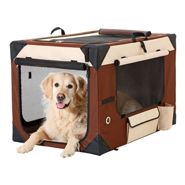 Hundetransportbox faltbar Smart Top Deluxe