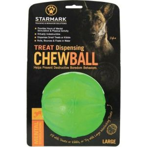 Starmark TREAT Dispensing Chew Ball L