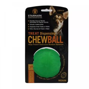 Starmark TREAT Dispensing Chew Ball M